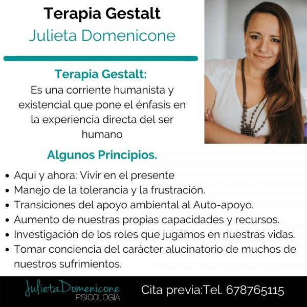 Terapia gestalt en Granada-Julieta Domenicone